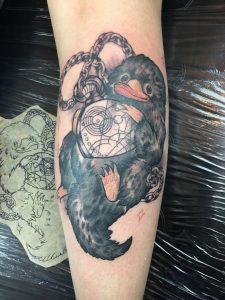 Foto eines Tattoos